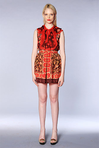 Anna Sui Resort 2013 Collection Runway Review.