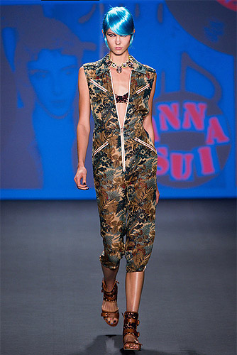 Anna Sui Spring 2013 Ready-to-Wear.
