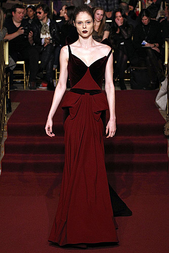 Zac Posen Fall 2013 Ready-to-Wear.
