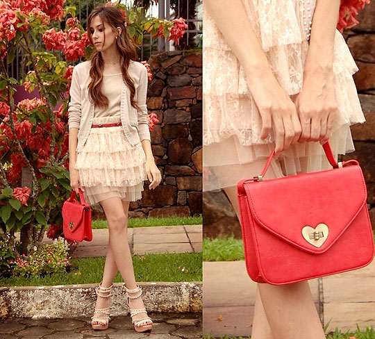 Sweet is the melody  - Bag, Weeken, Cardigan, Weeken, Skirt, Weeken, Shoe, Weeken, Van Der Linden, Brazil