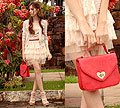 Sweet is the melody , Bag, Weeken, Cardigan, Weeken, Skirt, Weeken, Shoe, Weeken, Van Der Linden, Brazil
