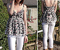 I'm wishing  - Spotty Top, Topshop, White Jeans, Weeken, Chelsea A, United Kingdom
