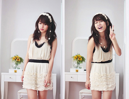 Homemade couture - a fairy tale dream  -  Top, Forever21, Skirt, Topshop, Linda Tran, Vietnam