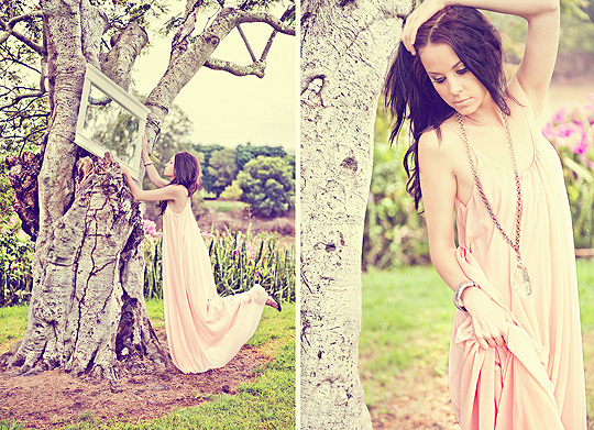 Pretty in pink  - Pink maxi, Weeken, Chunky chain necklace , Weeken, Kitty Robke, New Zealand