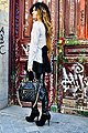 LAZOS ,  Dress, Weeken, Stam bag, Marc Jacobs, Leather Pants, Weeken, Shoes, Weeken, Angela Rozas Saiz, Spain