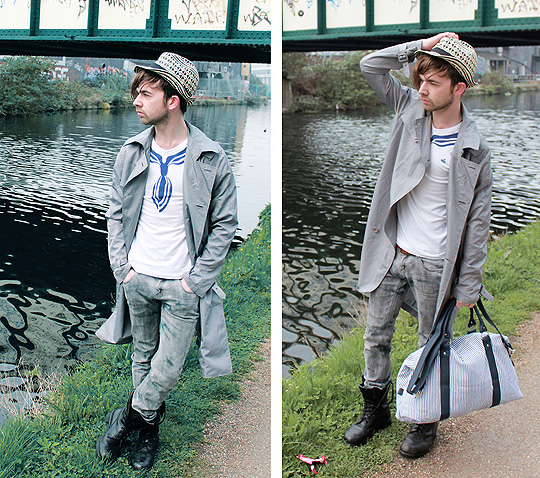 Dreams Awake By The City Lake  - Mac, Weeken, Top, Vivienne Westwood, Hat, Weeken, Holdall, Weeken, Charles Matthews, United Kingdom