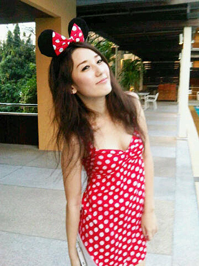 Minnie mouse :D  - Polka dot dress, Weeken, Little B, Thailand