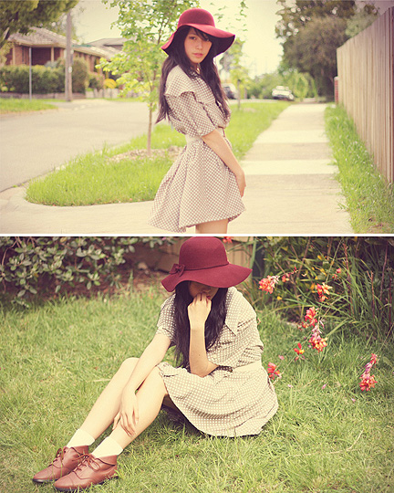 SUNNY SIDE OF TODAY  - Dresse, Weeken, Socks, Forever21, Shoe, Weeken,  hat, Forever21, Kani, Australia