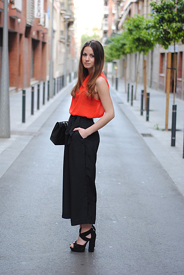 Orange Rules  - H&M Pants, H&M, Shose, ASOS, Zina CH, Spain