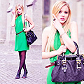 Clover Green on kayture blogspot , Kristina Bazan, Switzerland
