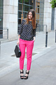 Fluorescent Pants  - Zara Pants, Zara, Zara Top, Zara, Chanel Bag, Chanel, Zina CH, Spain