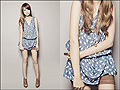 102310  - Cat-print top, Weeken, Wedges, Steve Madden, Cross necklace, Weeken, Tricia Gosingtian, Philippines
