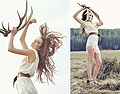 WE LIVE WILD AND FREE , WHITE DRESS, Weeken, BROWN BELT, Weeken, Thilda Mörlid Berglind, United Kingdom