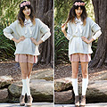 Ooh La ,  Garland, Weeken,  shirt, Weeken, Jumper, Weeken,  Shorts, Weeken, Wedges, Weeken, Autilia Antonucci, Australia