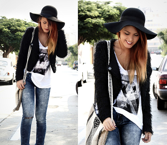 Cosmic Love  - Jacket, Weeken, Hat, Forever21, Lua P, Peru