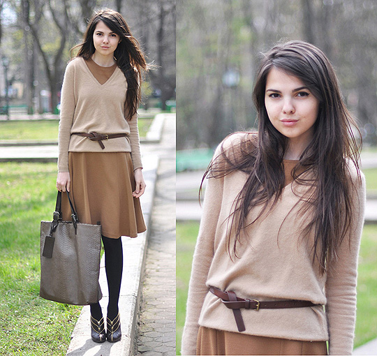 Warm me, my love!  - Dress, Weeken, Bags, Weeken, Belts, Weeken, Doina Ciobanu, Canada