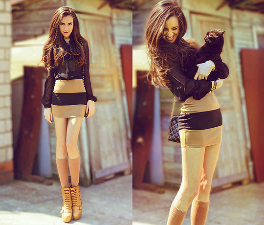 My crazy cat , Perventina Ols, Dress, Weeken, Shoes, Weeken, Dress, D.Wolves, Perventina Ols, Russia