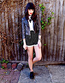 Noughts and Crosses (sort of)  -  Shorts, Weeken, Shoes, Weeken, Jacket, Topshop, Shirt, Weeken, Charlene O, United Kingdom