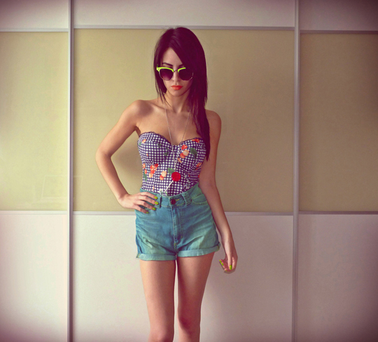 Lollipop  - Shorts, Zara, Iris Liesgen, Ireland