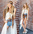 Indian haute couture  - Jean shorts, Weeken, Shoes, Weeken, Shea Marie, United States