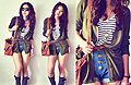 These boots got me thru the sunshine,, Cardigan, Weeken, Rainboots, Weeken, Sling bag, Weeken,  belt, Forever21, Stripes shirt, New Look, Cindy Ashes, Singapore