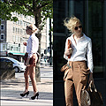 Heavy in your arms , Shirt, Zara, Pants, H&M, Bag, Weeken, Caroline G, United States