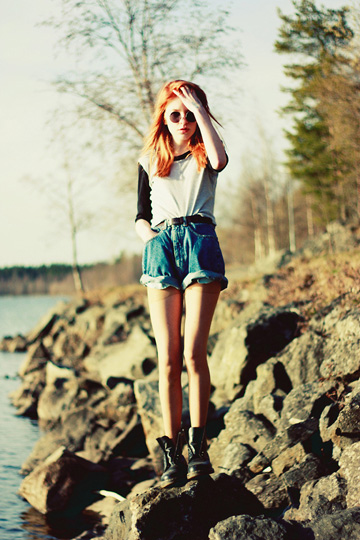 AFTERNOON  - Shorts, Weeken, Sunglasses, Weeken, Shoes, Weeken, Linnea Jacobson, Korea
