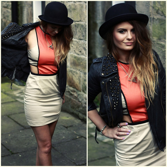 Just another ugly dress  - Dress, ASOS,  Jacket, Weeken, Morven SW, United Kingdom