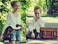 In the avenue of chestnut  - BLOUSES , Weeken, Shorts,, Zara, Ring, H&M, Peace-necklace, Weeken, Bag, Weeken, Tjalda, Germany