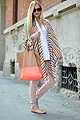 Chiara Ferragni, The Missoni shawl ,