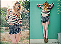Pattern  - Crop top, Weeken, Shorts, Weeken, Hidden wedge booties, Weeken, Lindsey Lugrin, Thailand