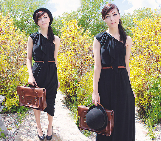 YOU ARE A WALKING ANTIQUE. - Maxi dress, Weeken, Satchel, Weeken, Breanne S, Canada