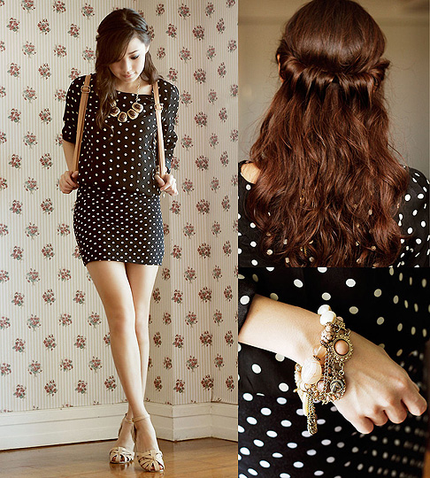 On the Dot. - Dress, Weeken, Bag, Weeken, Sandals, Weeken, Kryz Uy, Philippines