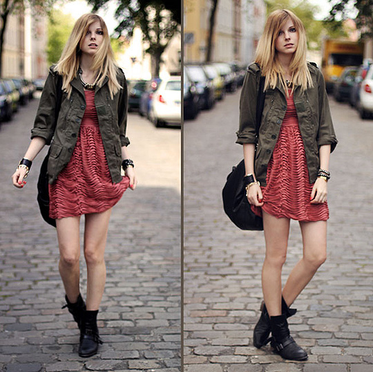 Contrary. - Jacket, Weeken, Dress, Weeken, Boots, Weeken, Jana Spaceman, Germany
