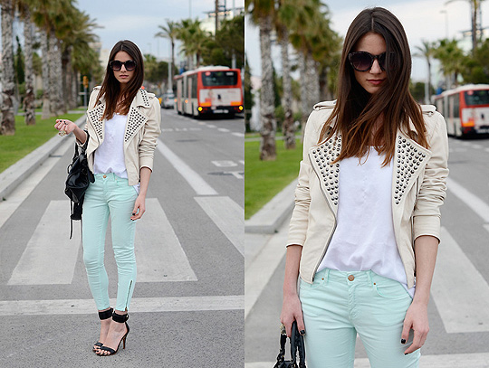 Mint Me Up - Jacket, Zara, Bags, Weeken, Zina CH, Spain