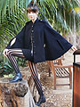 Bats for lashes, Cape, Weeken, Striped tights, Weeken, Boots, Weeken, Autilia Antonucci, Australia