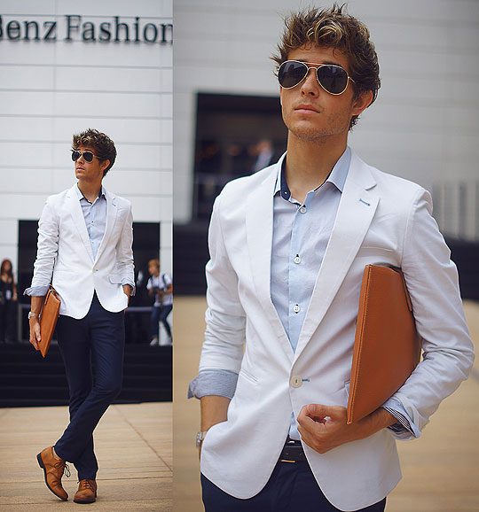Mercedes Benz Fashion Week - Day 1 - Blazer, Weeken, Shoes, Weeken, Adam Gallagher, Canada