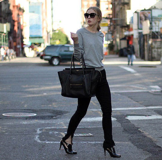 Hello NY - fashionsquad - Bag, Weeken, Sweater, Weeken, Pants, Weeken, Shoes, Weeken, Carolina Engman, Sweden