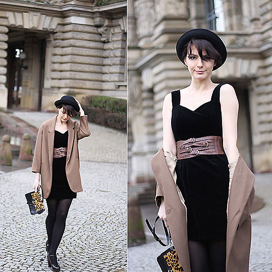 Glam code - Topshop, Topshop, Vintage dress, Weeken, Estelleblogmode, France
