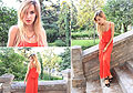 All in Red, Dress, Weeken, Sandals, Mango, IVANA J, Italy