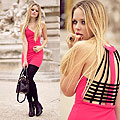 BLACK BAND DOS-NU - Dress, Weeken, Legwear, Weeken, Kristina Bazan, Switzerland