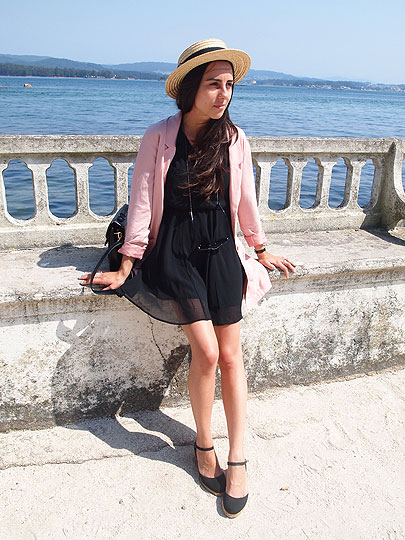 Summer - Blazer, H&M, Dress, H&M, Luci­ Matheus, Spain