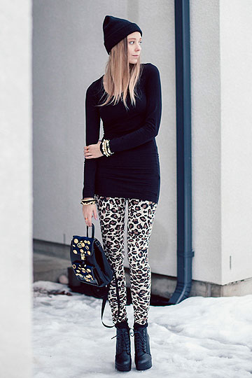 DIY Button Backpack - Leopard leggings, Diy, Backpack, Diy, Martina M, Finland