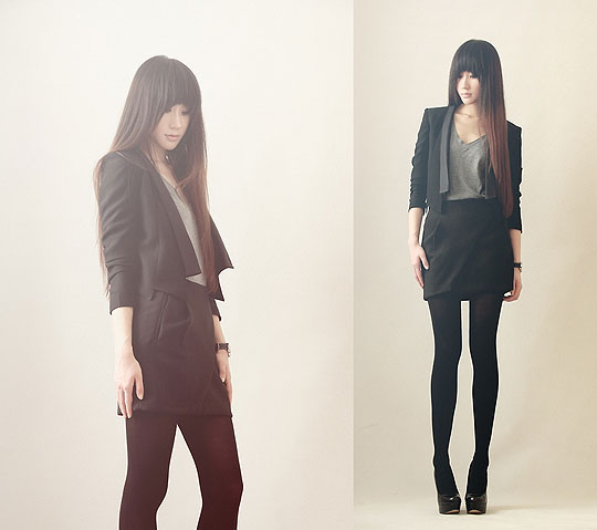 My work 5 - Coat, Weeken, Heels, Weeken, Nin M, China