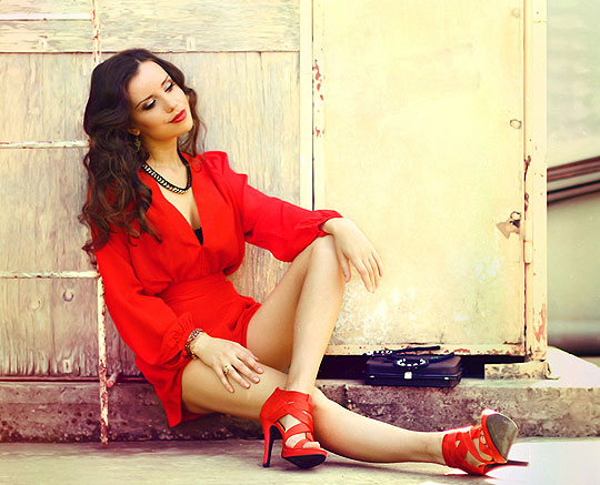 Give my love red <3 - Playsuit, Weeken, Perventina Ols, Russia