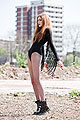 Stretching my wings - Tassled body, Topshop, Shiny boots, Weeken, Slutty fishnetz, Weeken, Sophie Bailey, United States