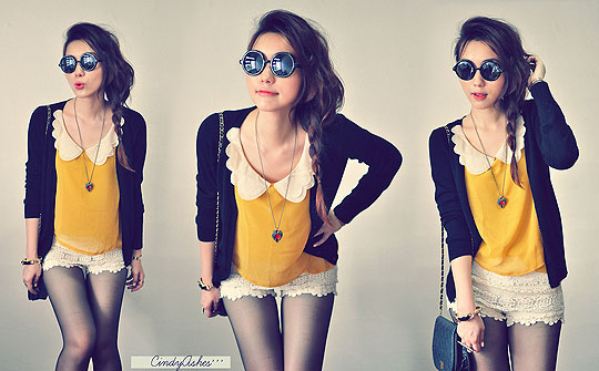 ! If Love Was So Simple ! - Crochet shorts, Weeken, Cindy Ashes, Singapore