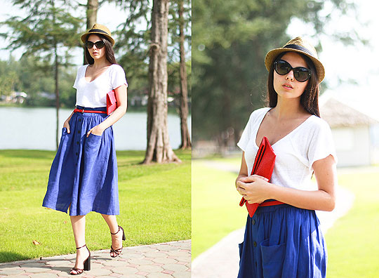 BE MY RED TIME BABY - Top, Weeken, Skirt, Weeken, Bags, Weeken, Doina Ciobanu, Canada