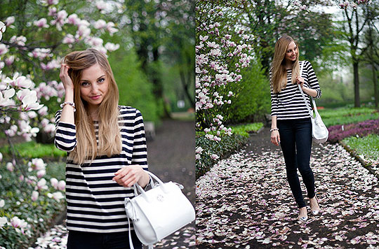 SPRING IN BLOOM - Bag, Tous, Top, H&M, Flats, Hispanitas, Jess A, Poland