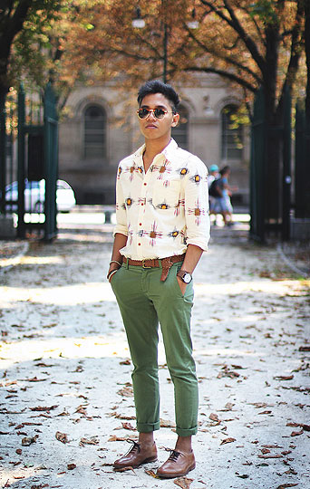 GREEN AND PASTEL - Shirts, Weeken, Pants, Shoes, Weeken, Jerome Centeno, Estonia